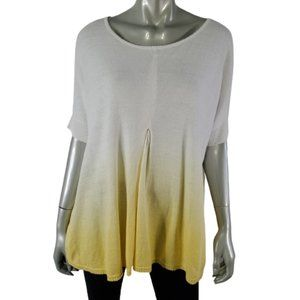 Ronen Chen 4 Tunic Top 12 Ombre Oversized Yellow